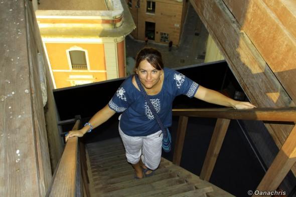 Cagliari Climbing up in Torre del Elefante