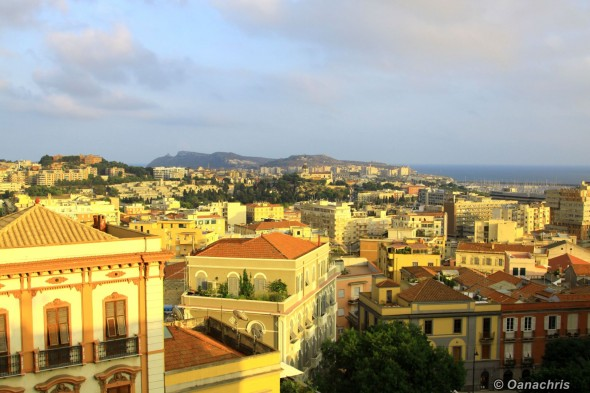 Cagliari - View from Bastione San Remy