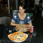 Cagliari delicious pizza