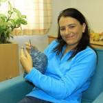 crocheting a winter cap