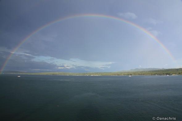 Rainbow in Davao
