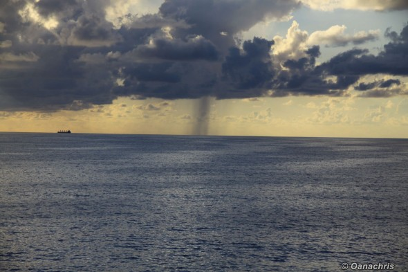Raining in the Gulf of Mexico