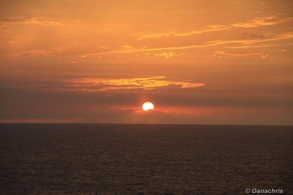 Sunset approaching Veracruz