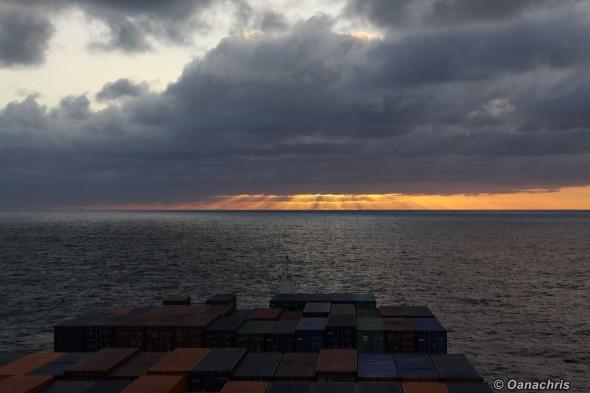 Sunset in the Atlantic Ocean (2)