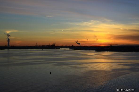 Sunsets in Port ElizabethNey Jersey