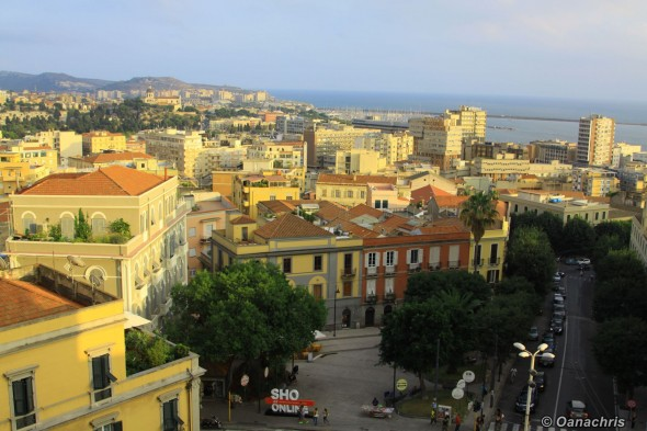 View from Bastione San Remy over Piazza Costituzione