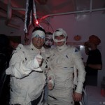 Halloween party on board