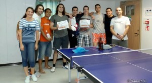 Table tennis competition