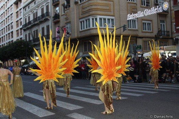 Feria de Falles - Parade (1)