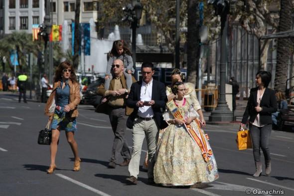 Feria de Falles Valencia - Falleras