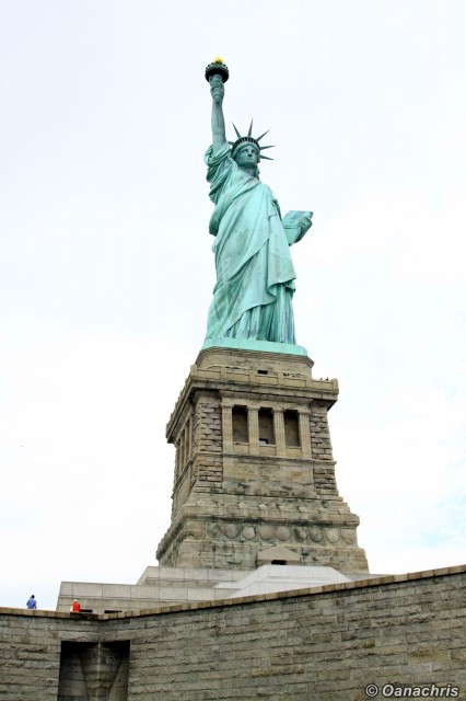 Statue of Liberty - close up