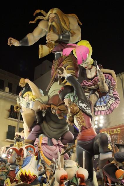 Valencia Feria de Falles - 1 st place (4)