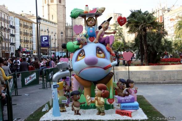 Valencia Feria de Falles - Falles Infantiles (2)