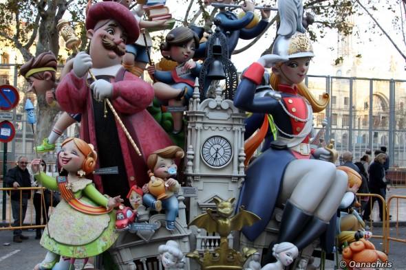 Valencia Feria de Falles - Falles Infantiles (3)