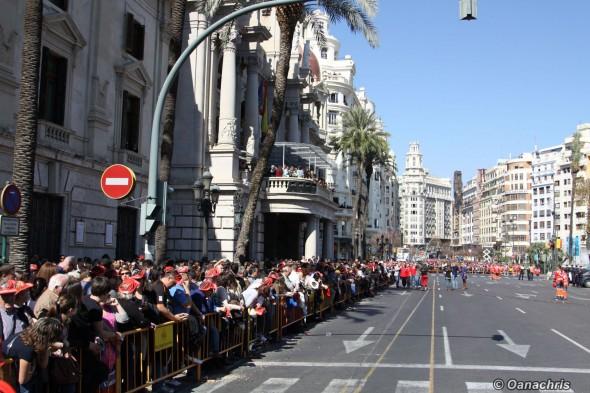 Valencia - Feria de Falles - Mascleta (2)