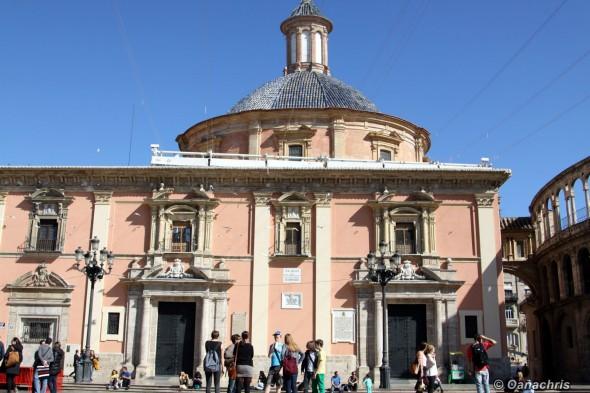 Valencia - Placa de la Reina - Basilica de los Desampadores