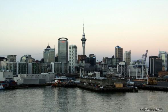 Auckland sky line