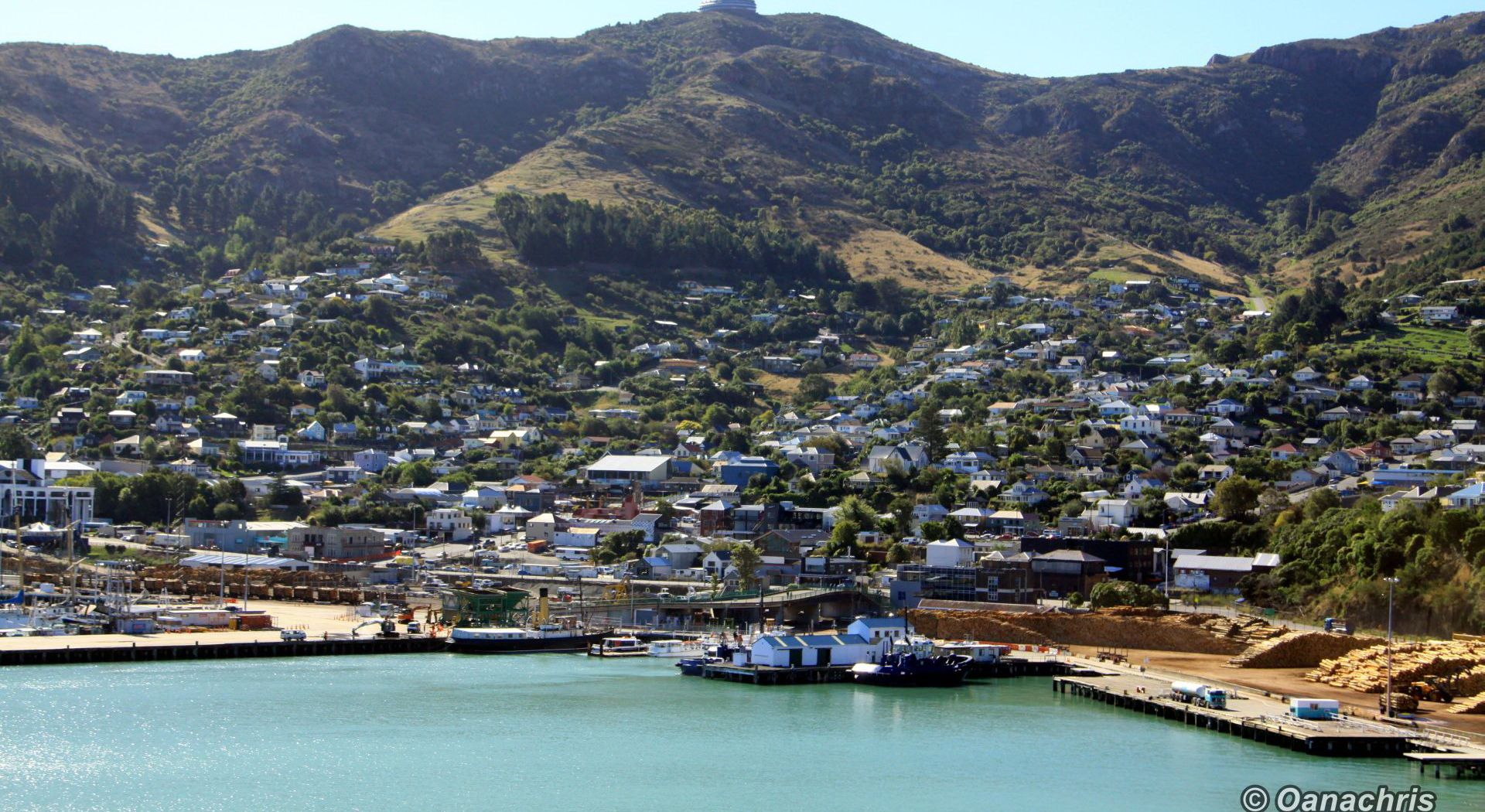 Going ashore in Lyttelton