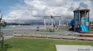Going ashore in Tauranga