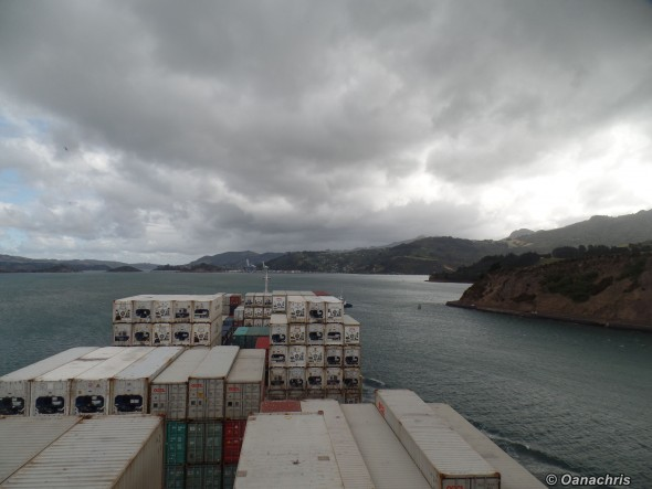 Approaching Port Chalmers