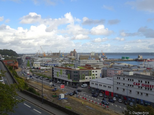 View from Brest Castle