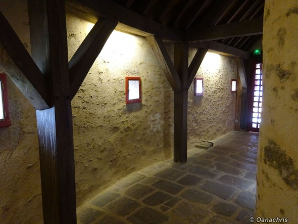 Inside Brest Castle