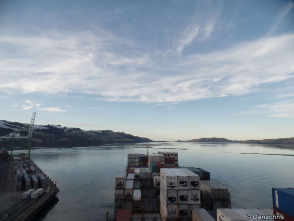 HS Beethoven departure from Port Chalmers