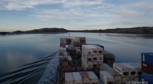 Entering Port Chalmers