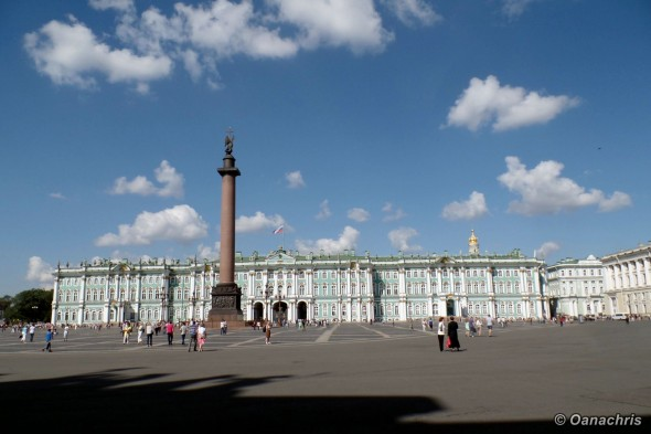 Saint-Petersburg-Palace-Square-Alexander-Column