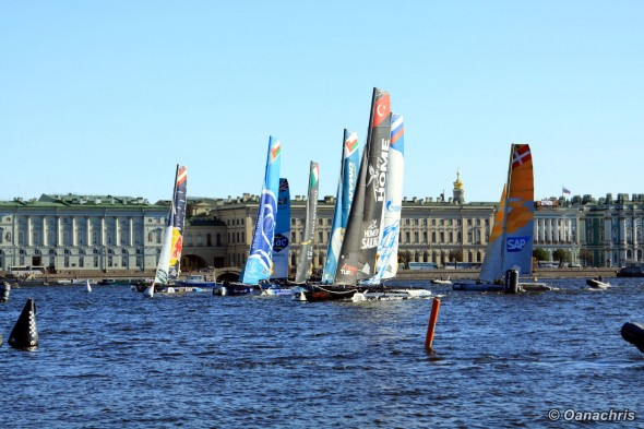 St. Petersburg Extreme Sailing on Neva River