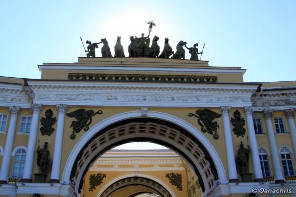 St. Petersburg Triumphal Arch Palace Square