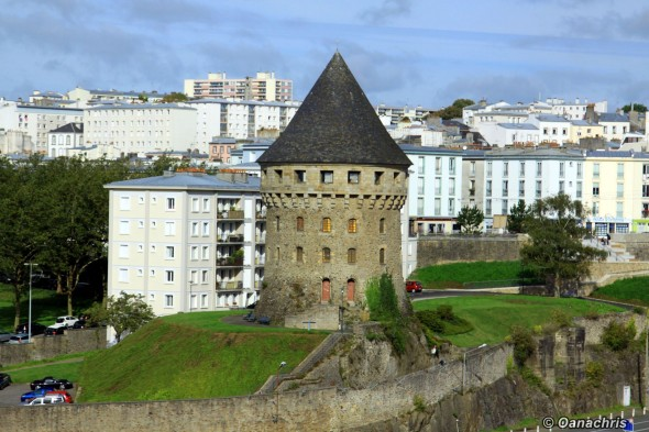 Tower Motte Tangui Brest