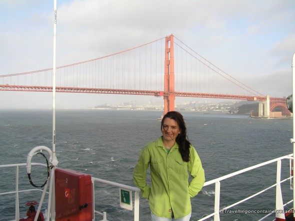Going ashore in San Francisco