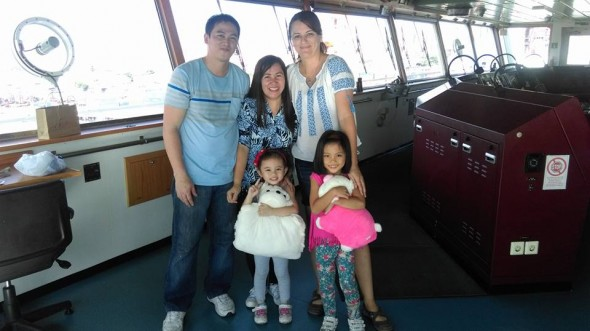Families on board