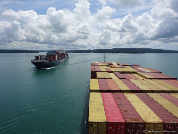 Transiting Panama Canal