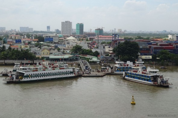Entering Ho Chi Minh City