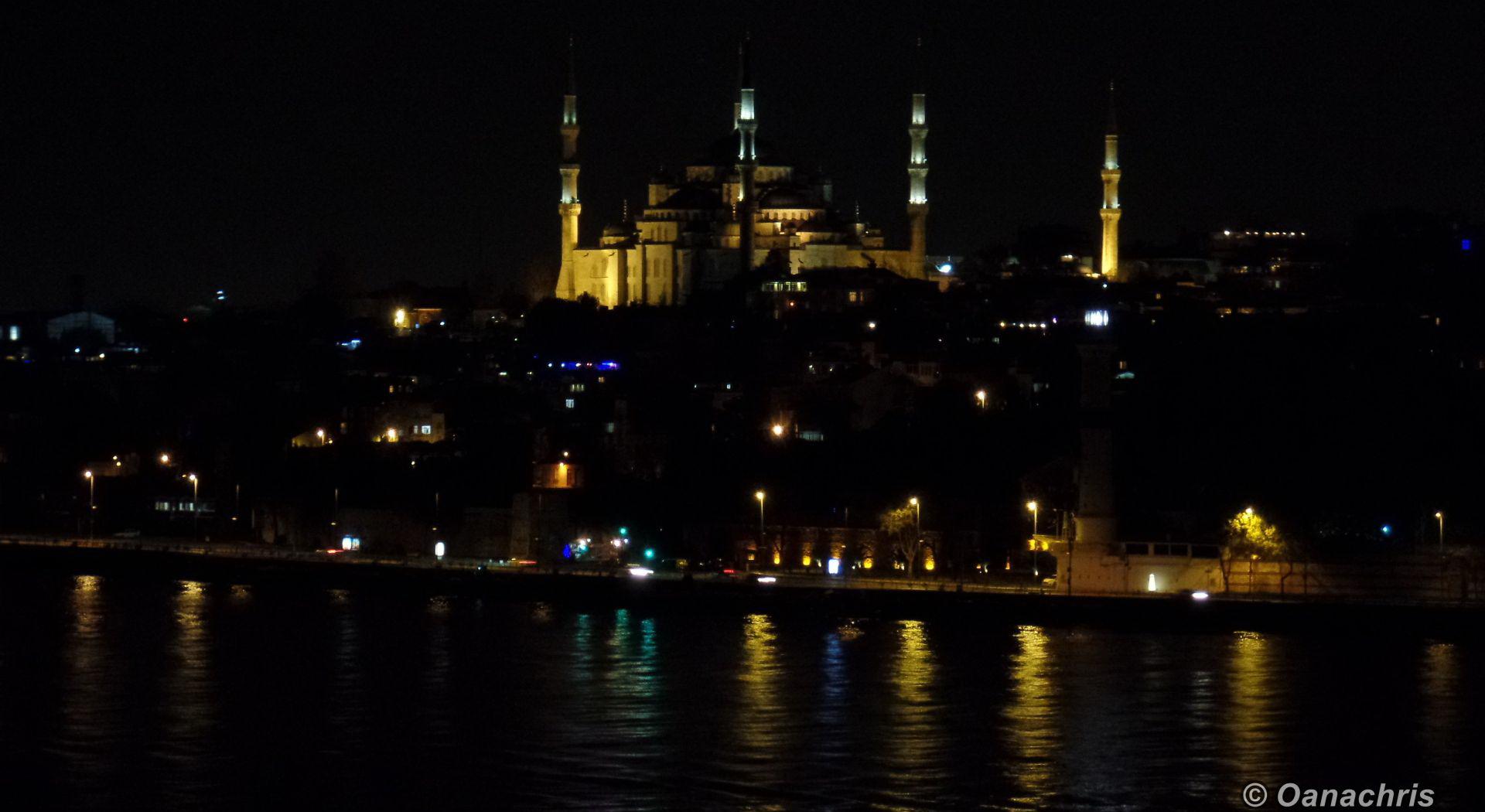 Transiting Bosphorus Strait