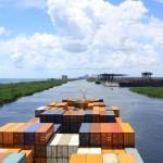 Entering Port Everglades