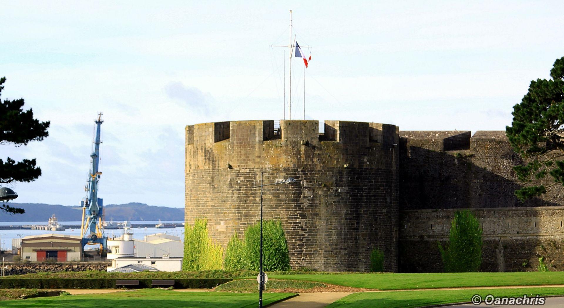Going ashore in Brest