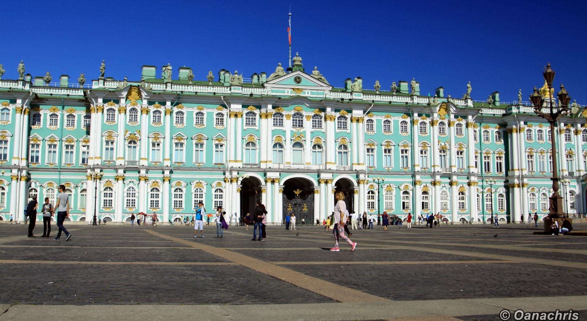 St. Peter and Paul's Fortress Winter Palace