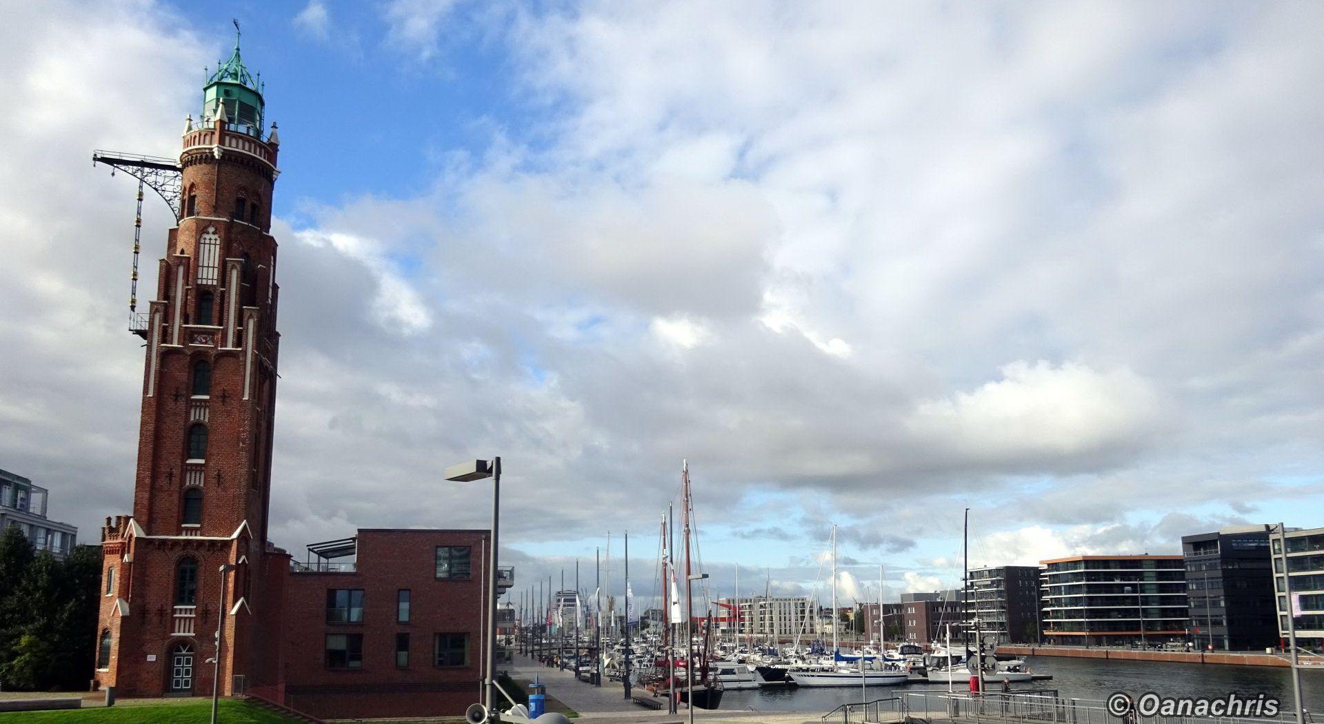 Going ashore in Bremerhaven